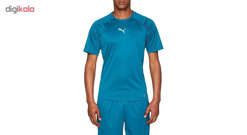 تی شرت آستین کوتاه مردانه پوما مدل ftblNXT PWRCOOL