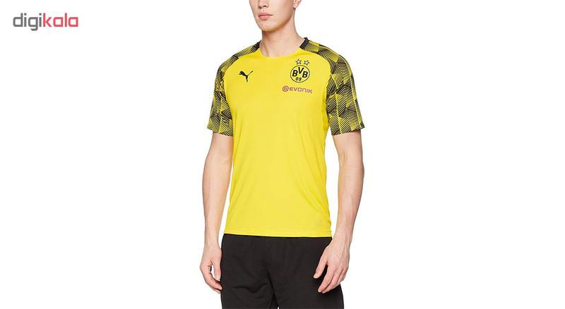 تی شرت آستین کوتاه مردانه پوما مدل BVB Stadium Jersey
