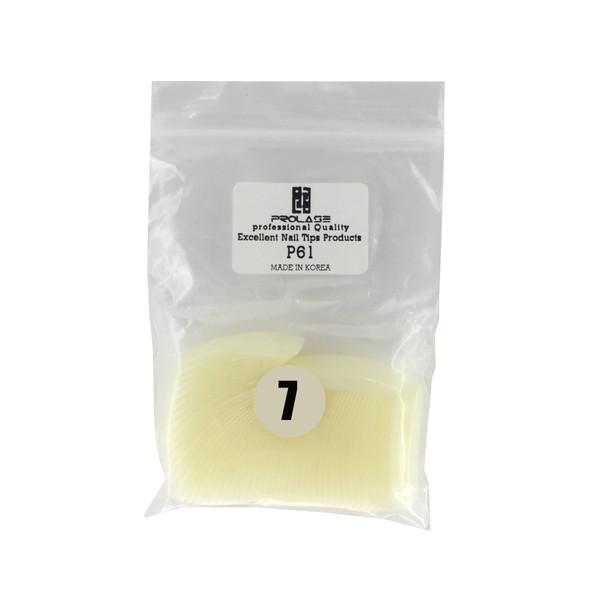 تیپ کاشت ناخنپرولایز  شماره p61 - 7 بسته 50 عددی