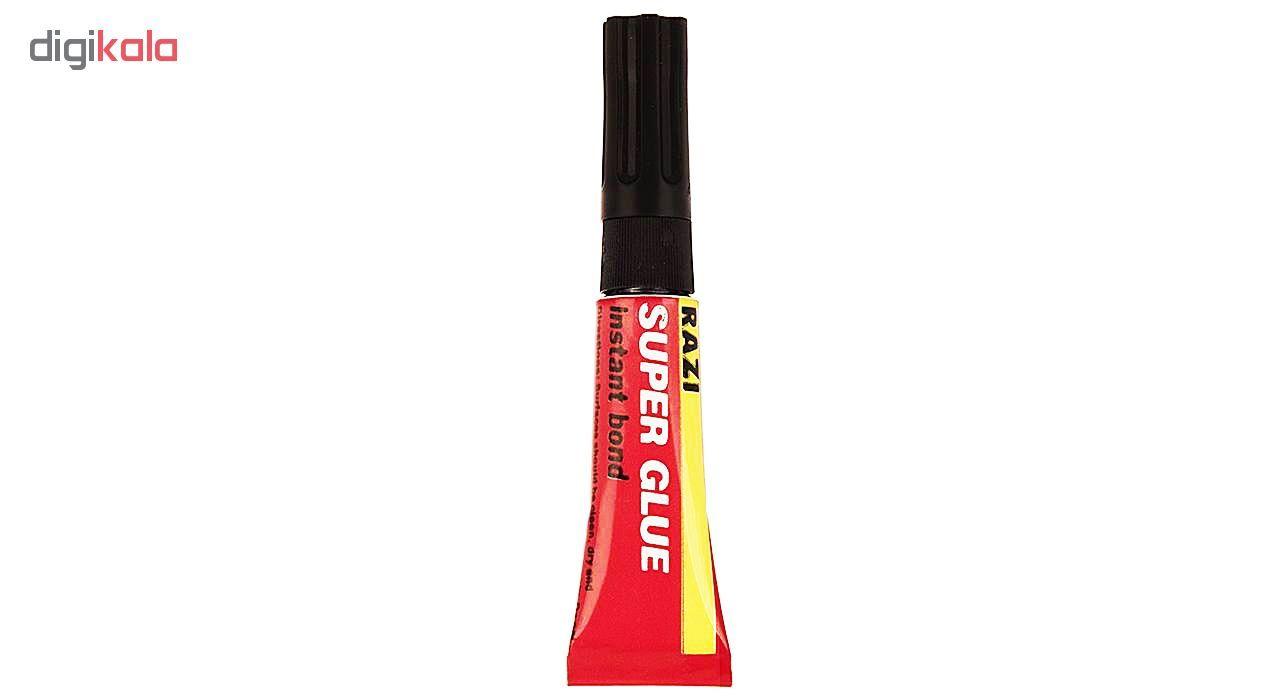 چسب قطره ای رازی مدل Super Glue حجم 3 میلی لیتر بسته 4 عددی main 1 5