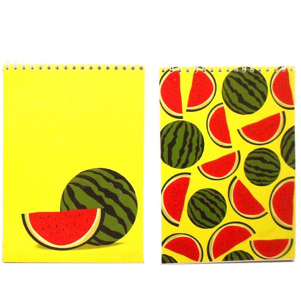 دفترچه هورشید طرح هندوانه بسته 2 عددی