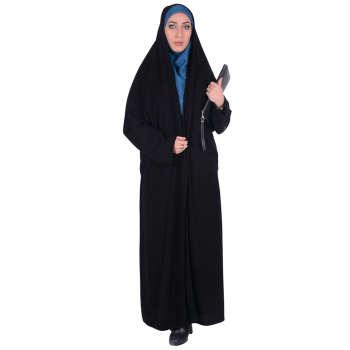 چادر ملی اداری کرپ کریستال شهر حجاب مدل 8003