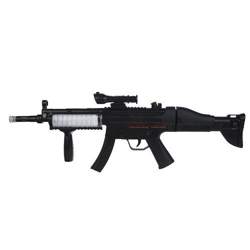 تفنگ اسباب بازی مدل BLACK MUSIC FLASH GUN کد AK-9011