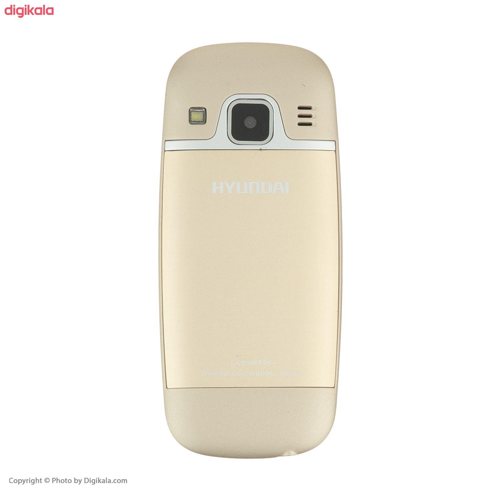 گوشی موبایل هیوندای مدل Seoul K5 دو سیم کارت main 1 2