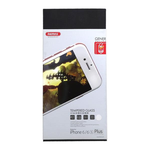 محافظ صفحه نمایش شیشه ای ریمکس مدل Gener مناسب برای گوشی موبایل آیفون 6/6s پلاس