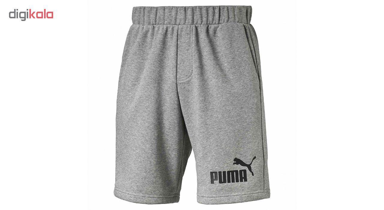 شورت ورزشی مردانه پوما مدل No.1 Sweat -  - 1