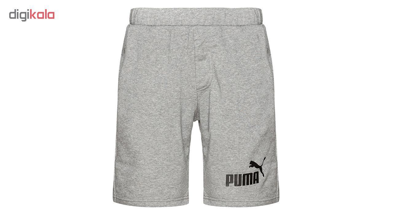 شورت ورزشی مردانه پوما مدل No.1 Sweat -  - 2