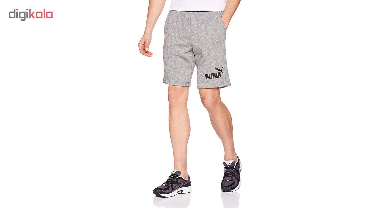 شورت ورزشی مردانه پوما مدل No.1 Sweat -  - 3