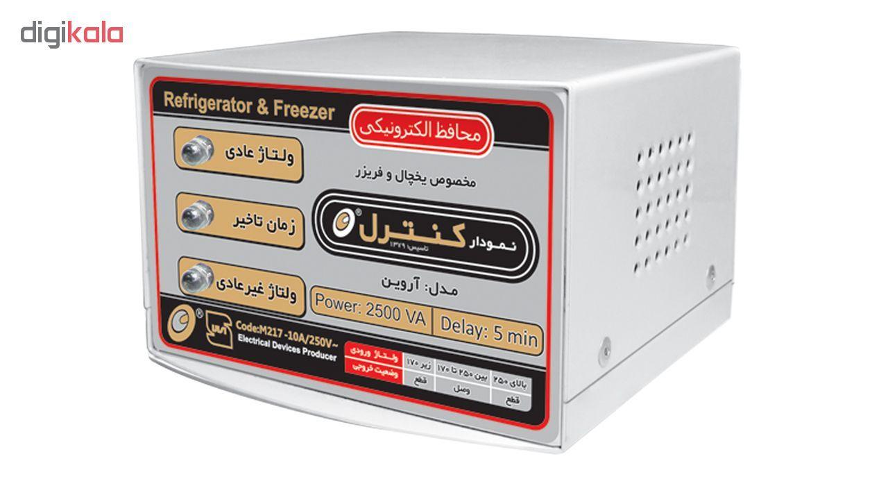 محافظ ولتاژ الکترونیکی نمودار کنترل مدل M217 مناسب یخچال و فریزر main 1 1