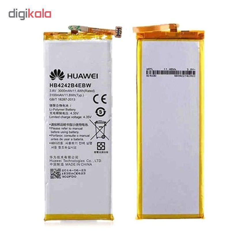 باتری موبایل هوآوی مدل HB4242B4EBW ظرفیت 3000 میلی امپر ساعت مناسب برای گوشی موبایل هواوی HONOR 4X main 1 1