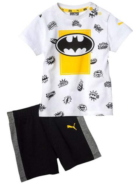 ست تی شرت و شلوارک پسرانه پوما مدل Justice League -  - 1