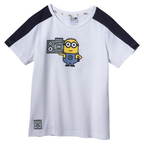 تی شرت آستین کوتاه پسرانه پوما مدل Minions