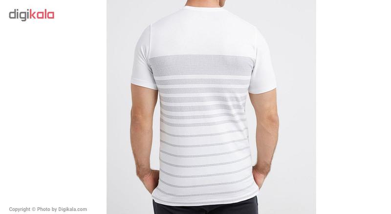 تیشرت ورزشی مردانه آندرآرمور مدل SPORTSTYLE STRIPE TEE - آندر آرمور