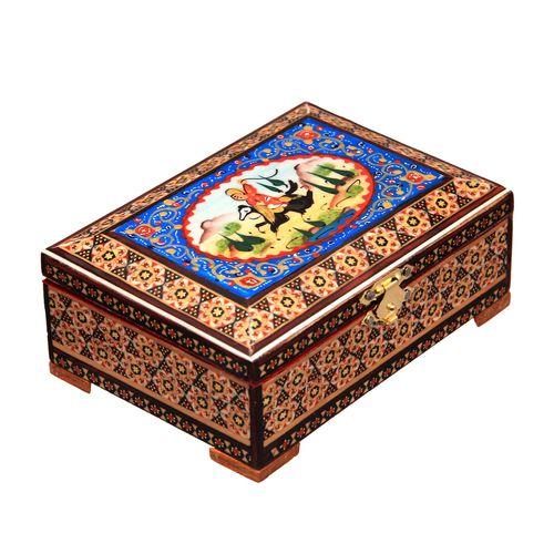 جعبه جواهرات خاتم کاری کد 5-70061