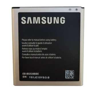 باتری موبایل سامسونگ مدل EB-BG530BBC با ظرفیت 2600 میلی آمپر ساعت مناسب برای گوشی موبایل سامسونگ J3