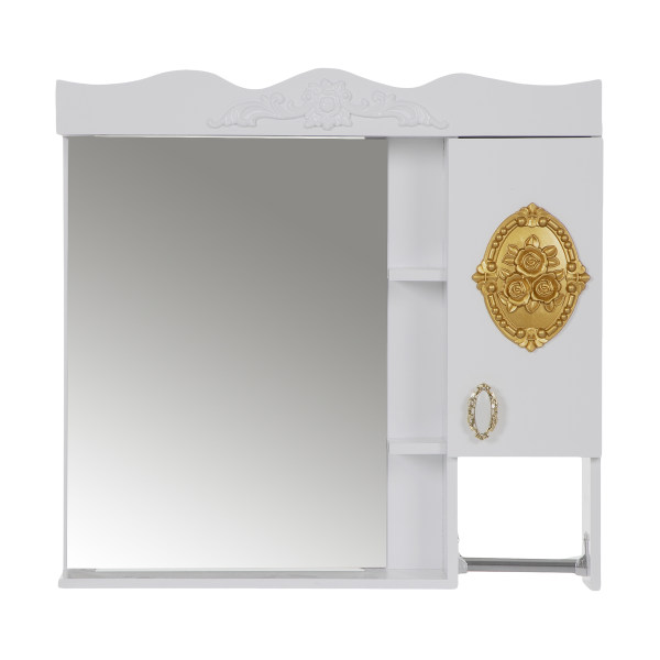 ست آینه و باکس مدل گل کد 202