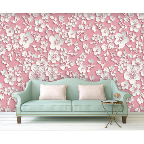پوستر دیواری سه بعدی سری لوکس 2018 کد wp-lux-156