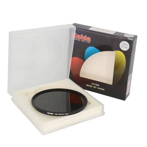 فیلتر لنز هایدا مدل Slim ND0.9 (8X) 67m