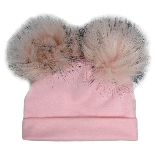 کلاه بچگانه مدل 01 رنگ گلبهی