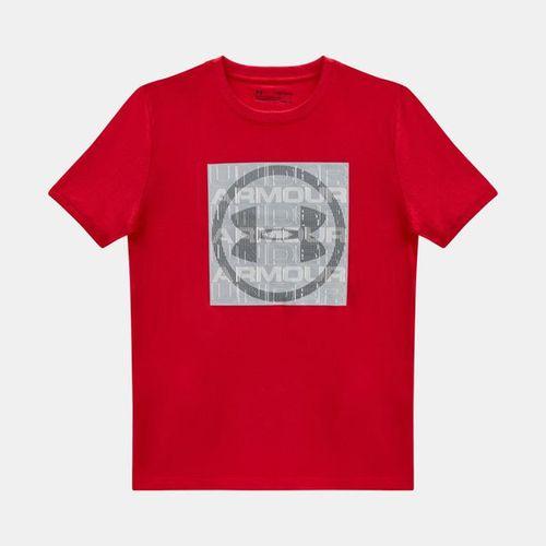 تی شرت پسرانه آندر آرمور مدل Visualogo SS T