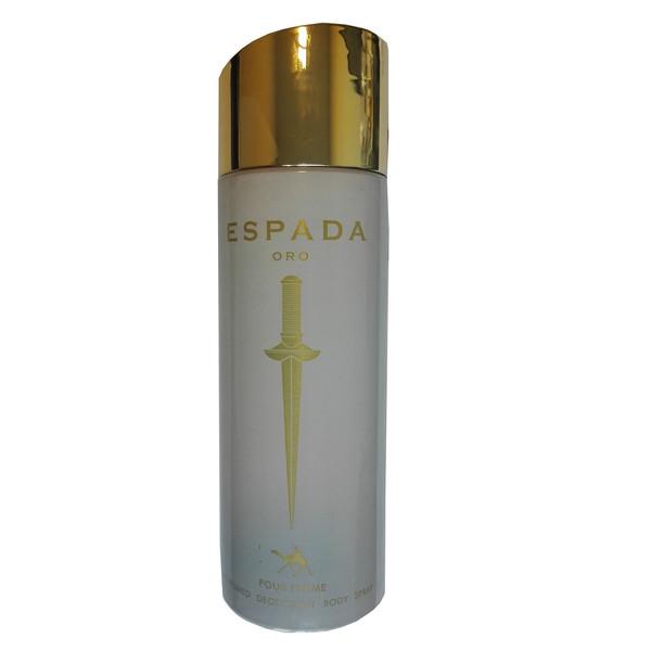 اسپری بدن زنانه امپر مدل Espada Oro حجم 200 میلی لیتر