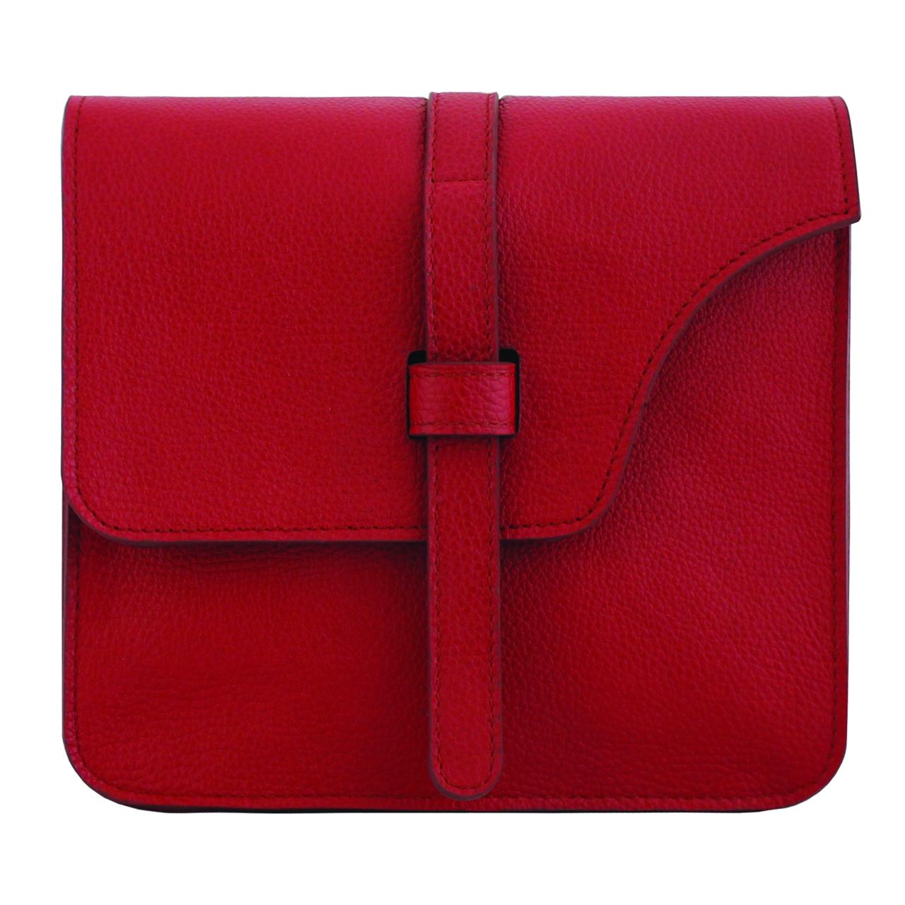 قیمت کیف دوشی زنانه چرم طبیعی جانتا مدل 074a