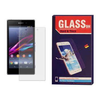 محافظ صفحه نمایش شیشه ای مدل Hard and thick مناسب برای گوشی موبایل سونی Xperia z1