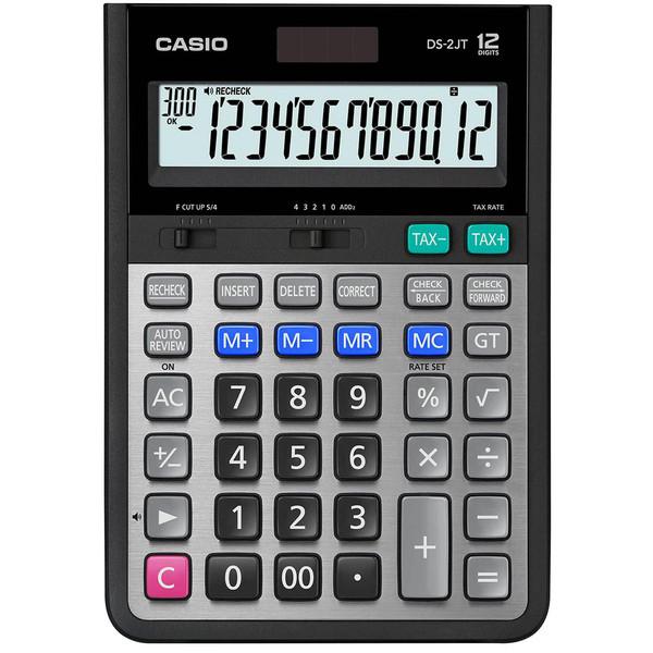 ماشین حساب کاسیو مدل DS-2JT