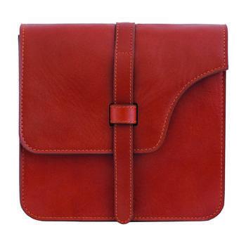 کیف دوشی زنانه چرم طبیعی جانتا مدل 074b
