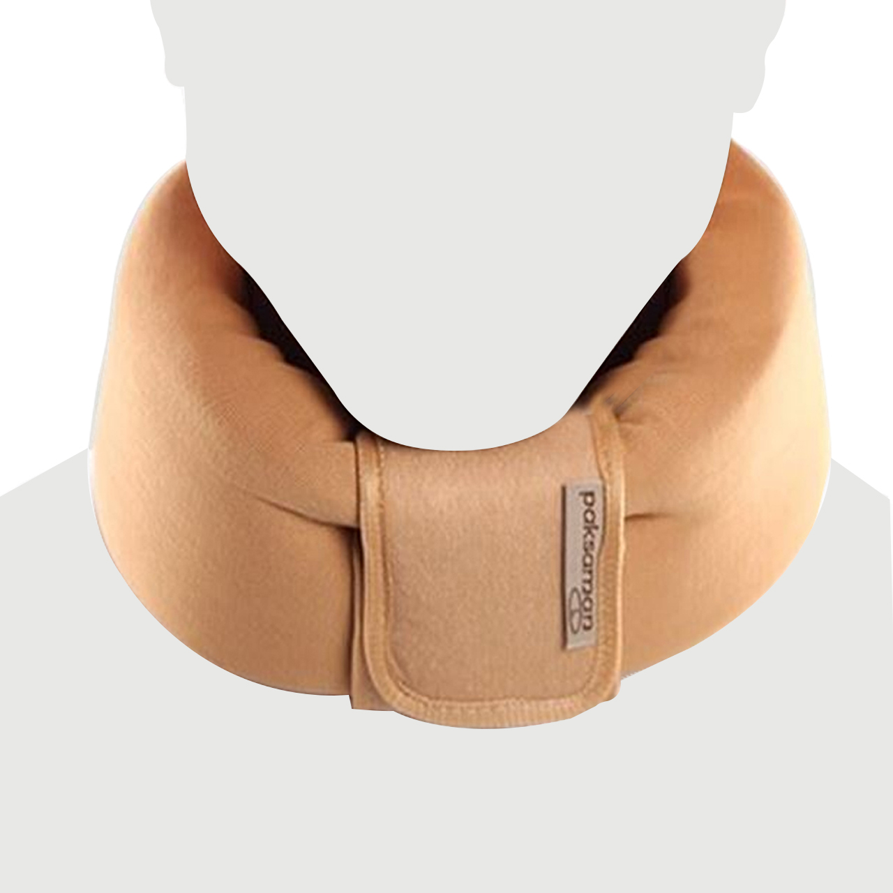 گردن بند طبی پاک سمن مدل Soft Cervical Collar