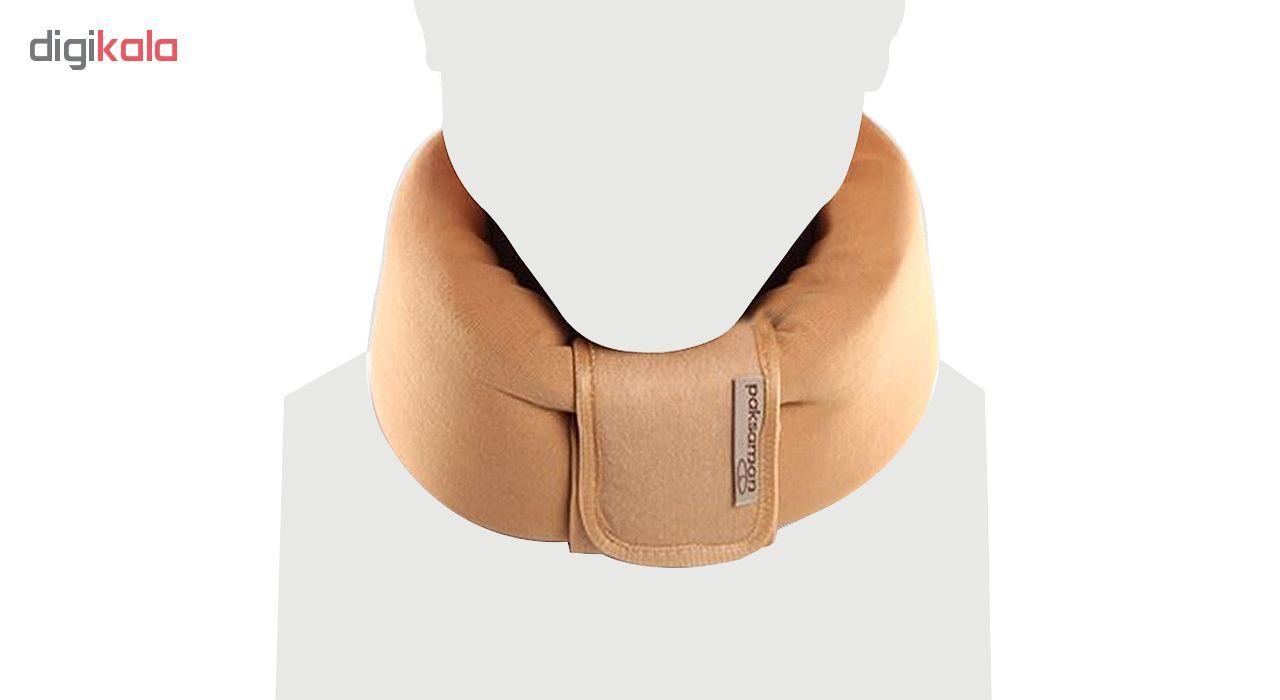 گردن بند طبی پاک سمن مدل Soft Cervical Collar main 1 2