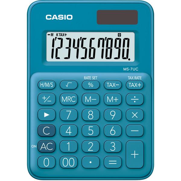 ماشین حساب کاسیو مدل MS-7UC-BU