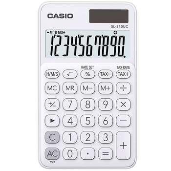 ماشین حساب کاسیو مدل SL-310UC-WE | Casio SL-310UC-WE Calculator