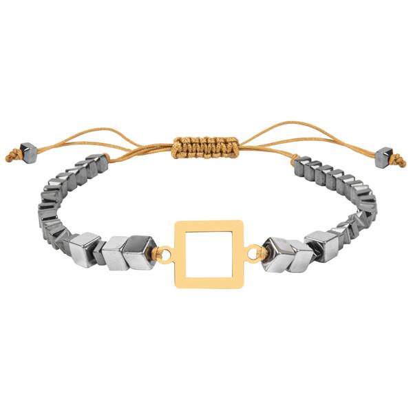 دستبند طلا 18 عیار زنانه ریسه گالری مدل H1256