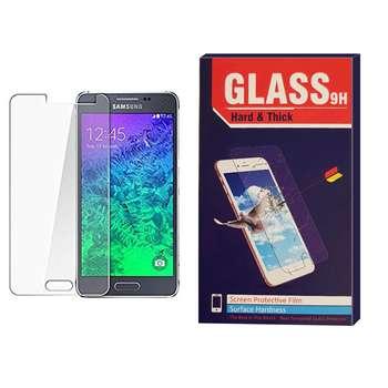 محافظ صفحه نمایش شیشه ای مدل Hard and thick HT003 مناسب برای گوشی موبایل سامسونگ Alpha