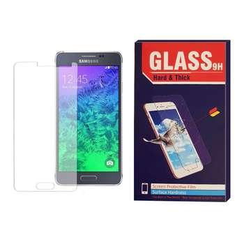 محافظ صفحه نمایش شیشه ای مدل Hard and thick HT003 مناسب برای گوشی موبایل سامسونگ A700/A7 2015