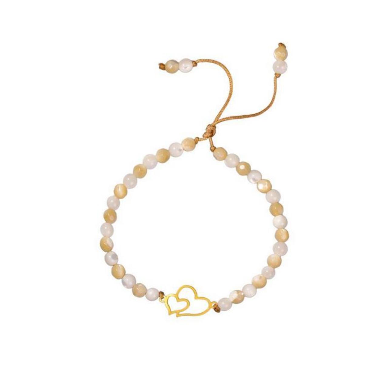 قیمت دستبند طلا 18عیار الن نار مدل EL109
