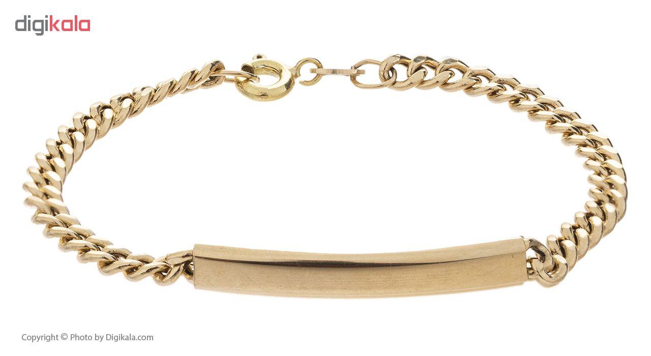 دستبند طلا 18 عیار گوی گالری مدل G1