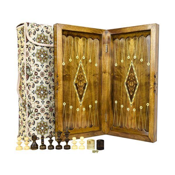 صفحه شطرنج و تخته نرد مدل سنندج