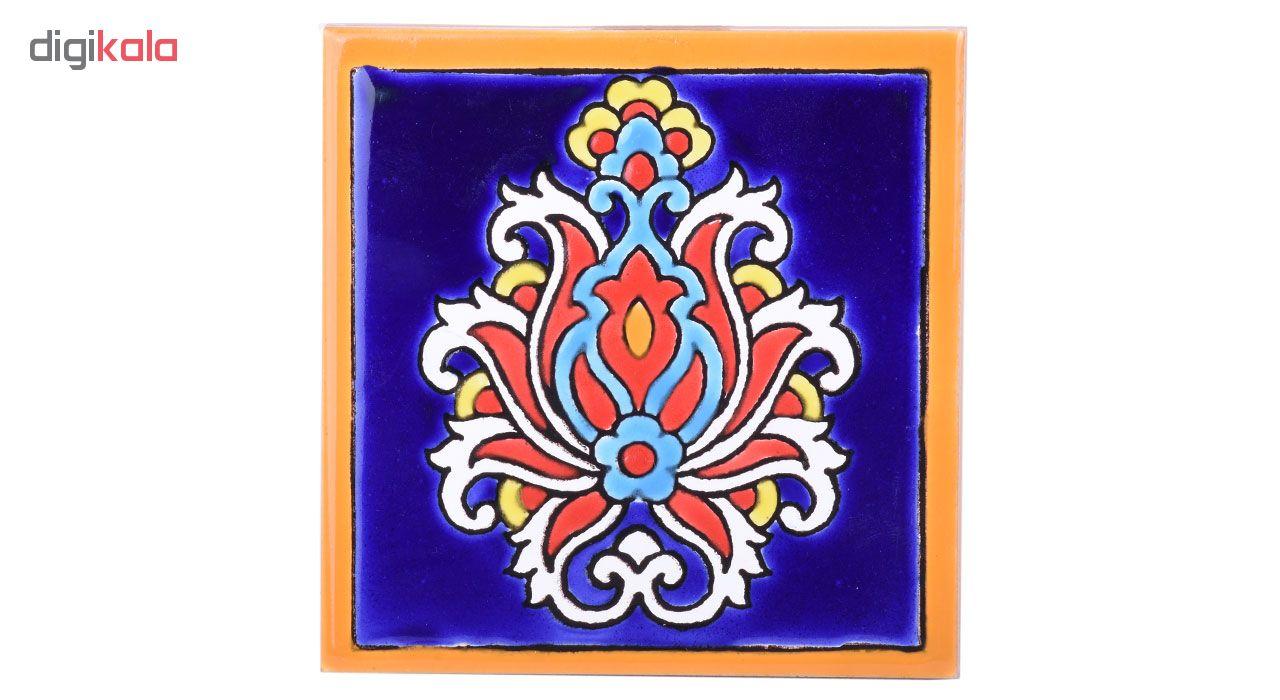 خرید                      کاشی هفت رنگ زند پور طرح گلجام مدل 05-17 سایز 10 سانتیمتر