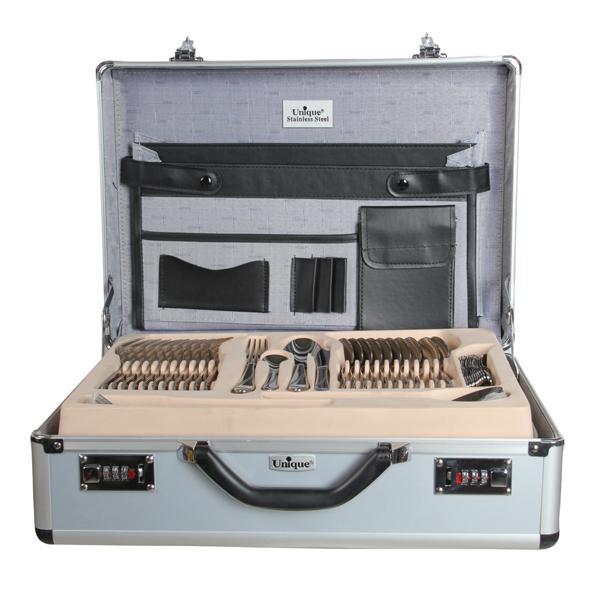 سرویس قاشق و چنگال 129پارچه یونیک مدل 5702