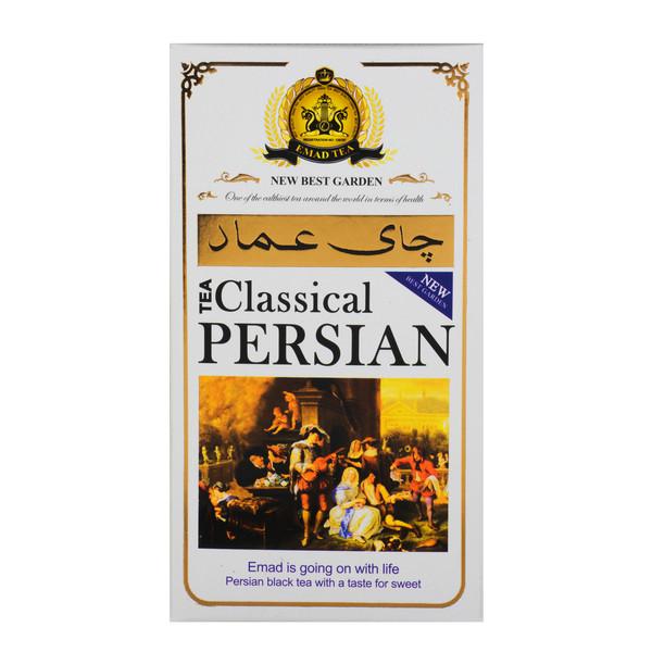 چای ایرانی کلاسیک عماد مقدار 400 گرم