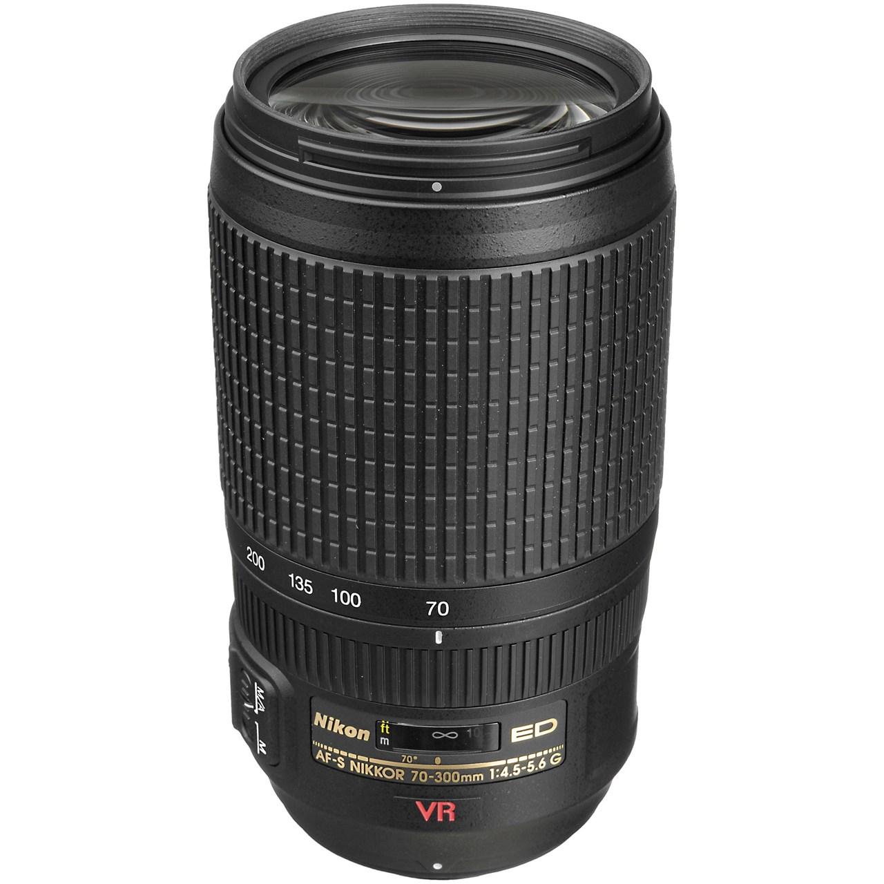 لنز نیکون مدل 70-300mm f/4.5-5.6 G IF ED