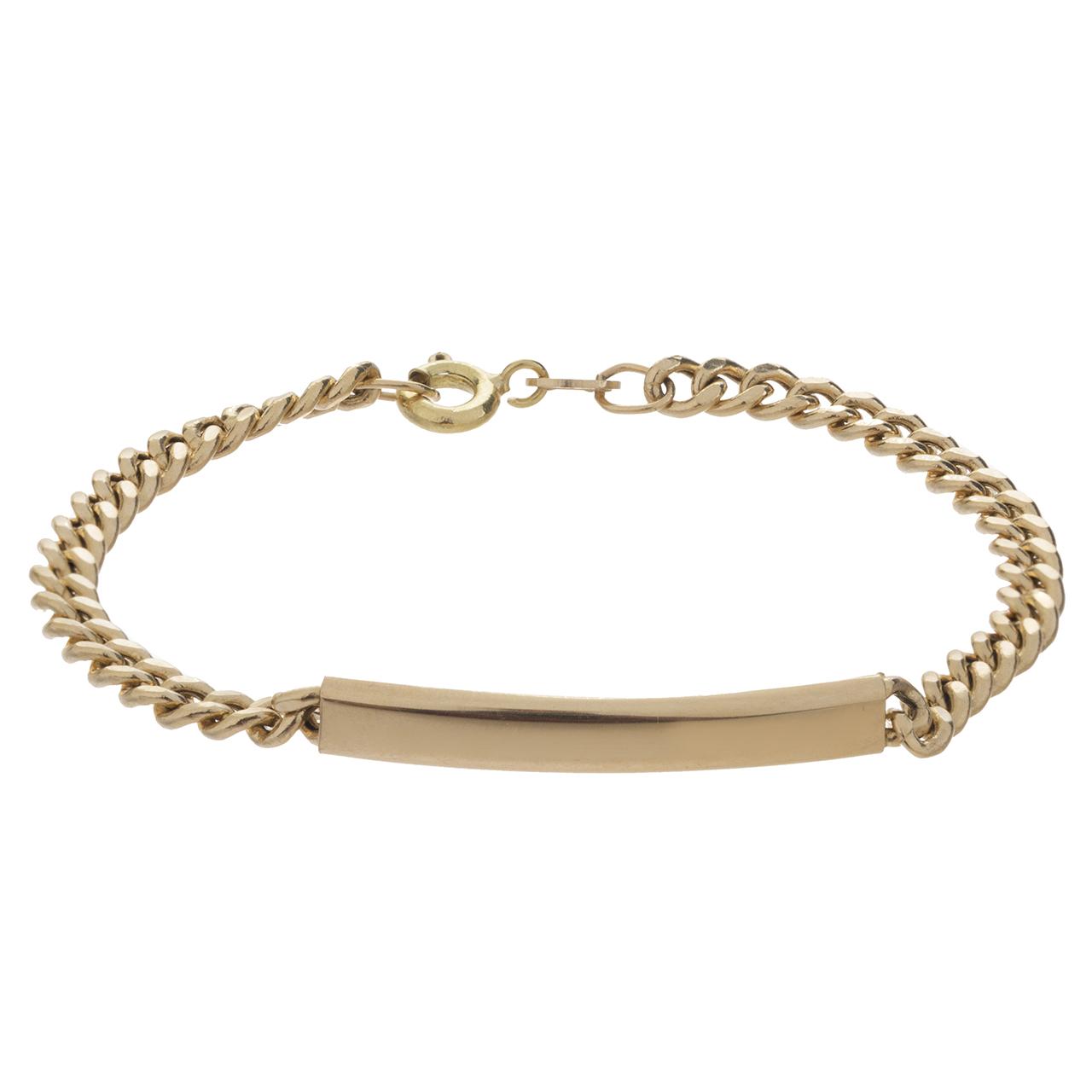 دستبند طلا 18 عیار گوی گالری مدل G31