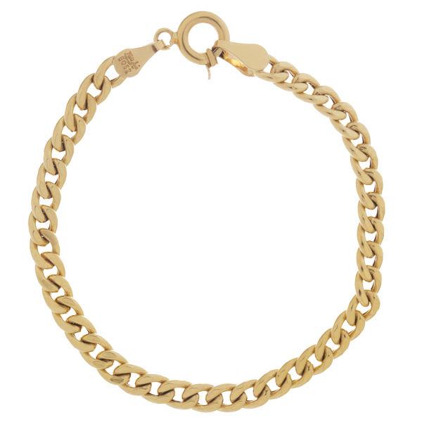 دستبند طلا 18 عیار گوی گالری مدل G34