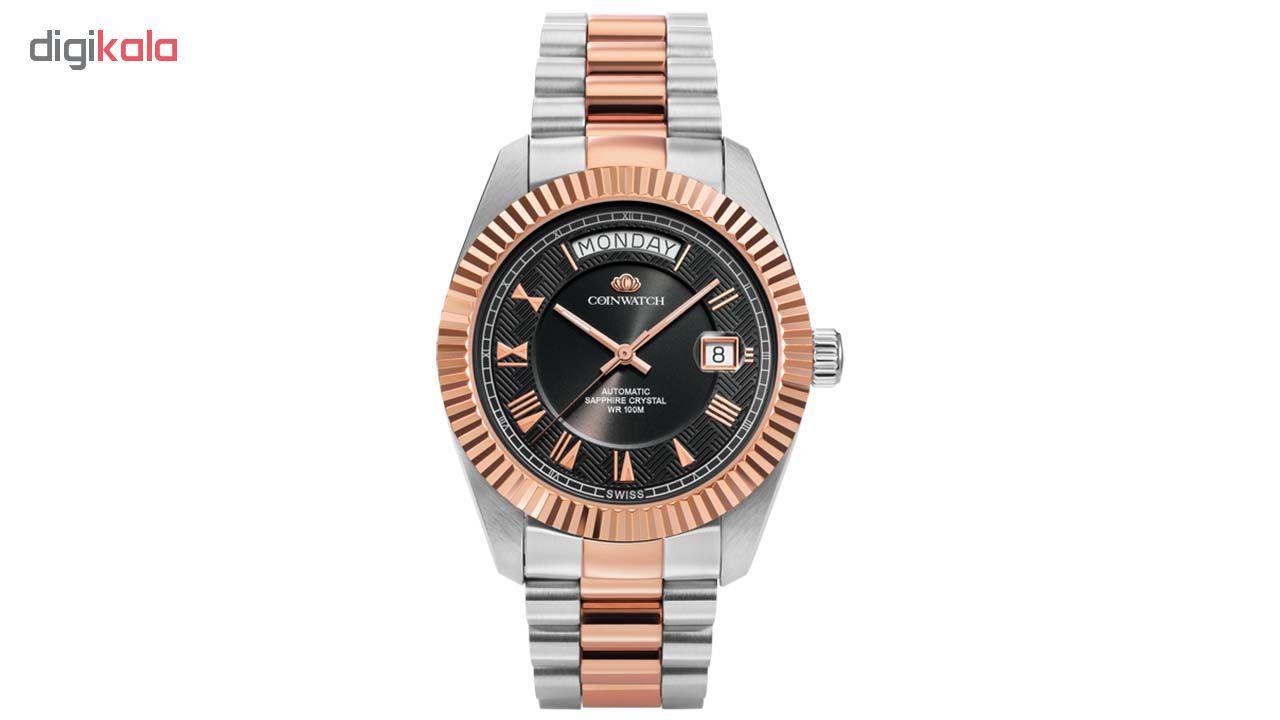 ساعت مچی عقربه ای مردانه کوین واچ مدل C109RBK