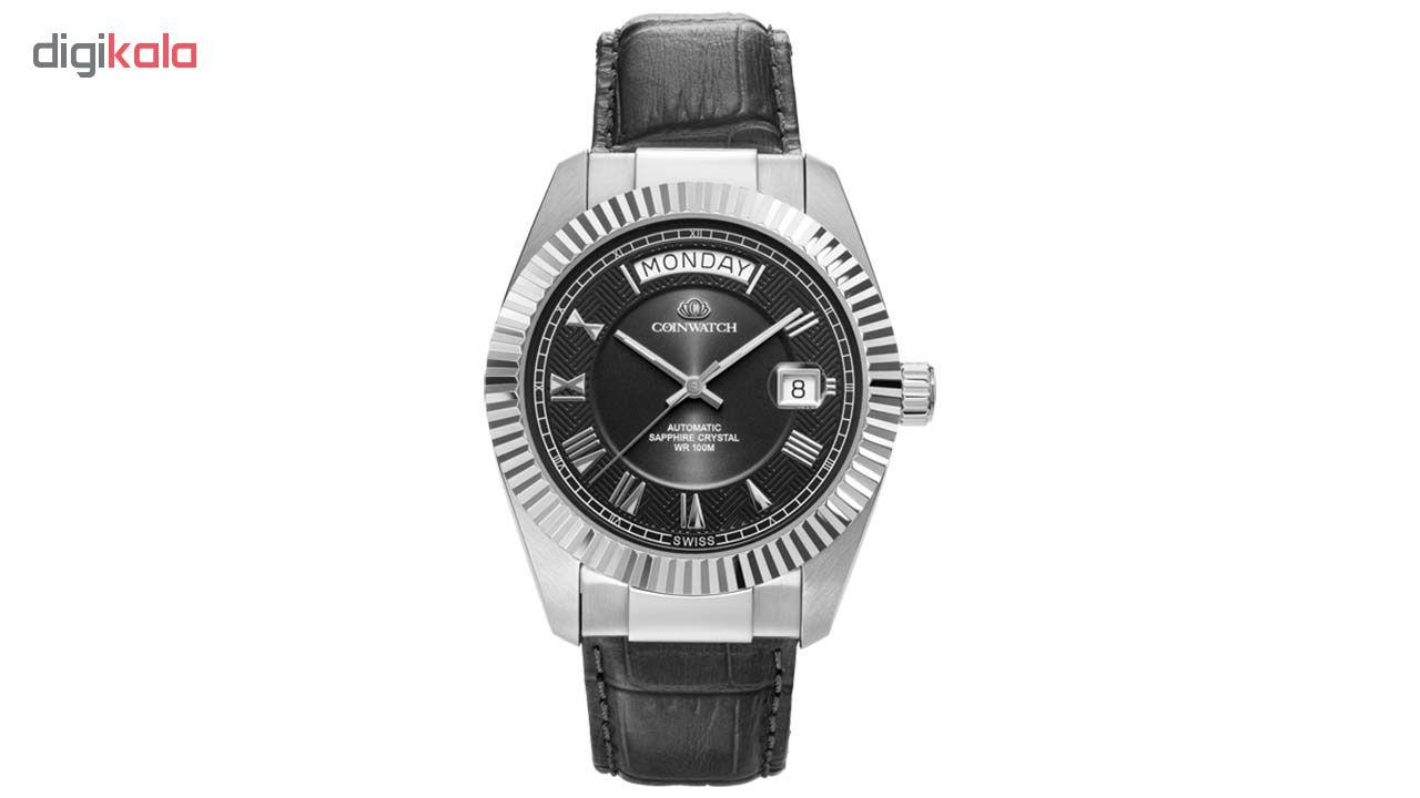 خرید ساعت مچی عقربه ای مردانه کوین واچ مدل C113SBK