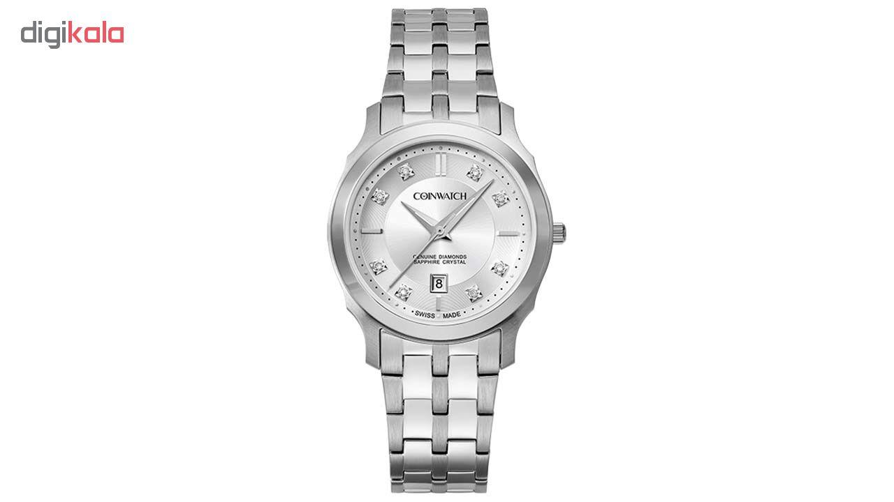 ساعت مچی عقربه ای زنانه کوین واچ مدل C117SSV              خرید (⭐️⭐️⭐️)