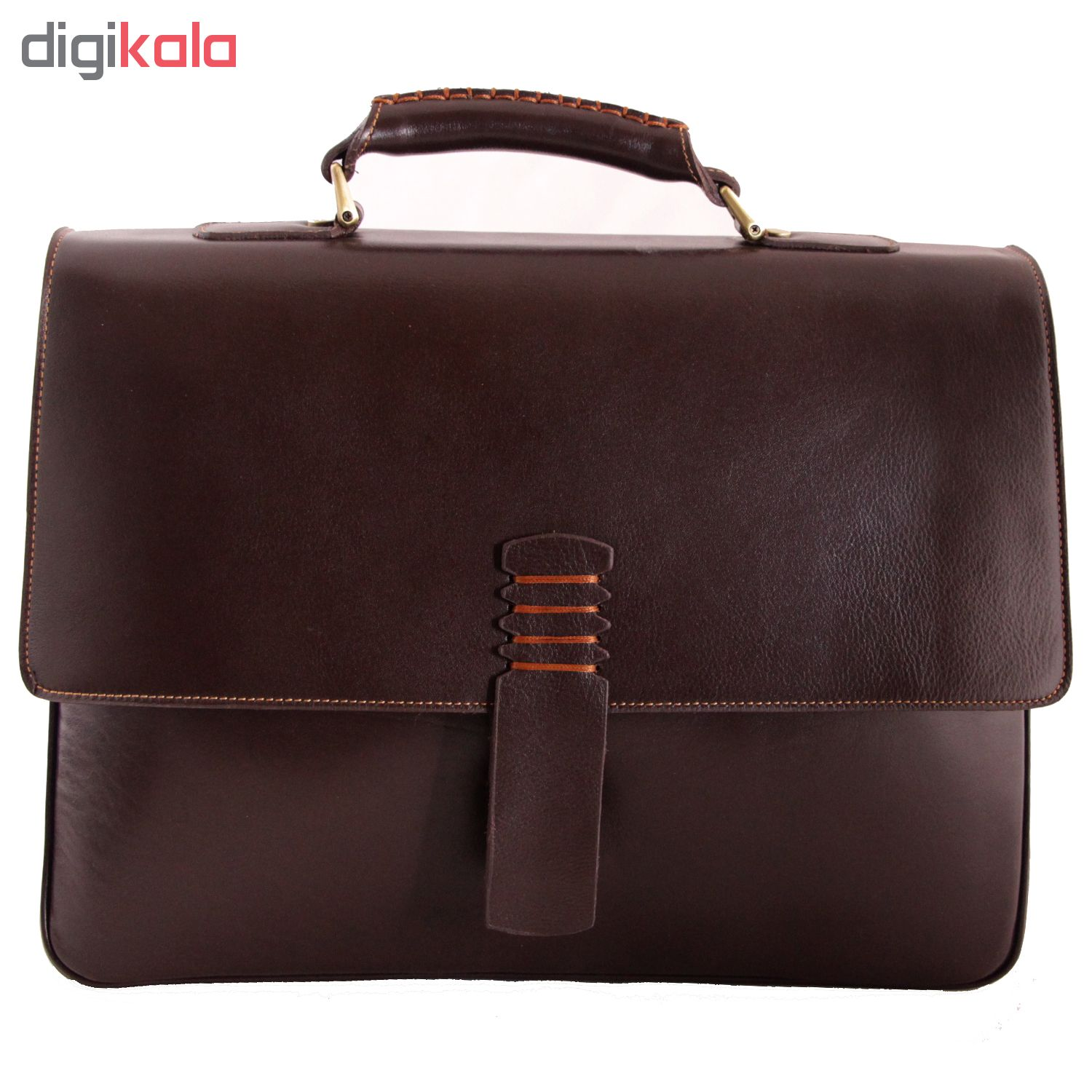 ADINCHARM natural leather office bag, DL4 Model