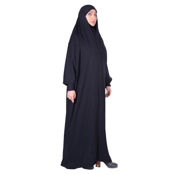 چادر حجاب جلابیب کرپ کن کن ژرژت شهر حجاب مدل 8047